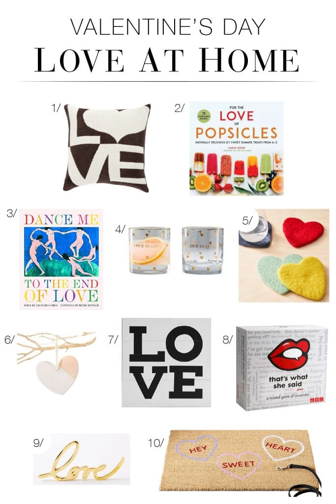 Fun Valentine's Day Decor to brighten your home for the holiday + gift to your family & friends because we all need more LOVE, every day!