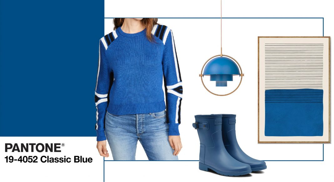 The Pantone Color of the Year supposedly reflects where we are as a culture. Classic Blue = safe, secure & familiar. Our favs for 2020 in fashion & decor.