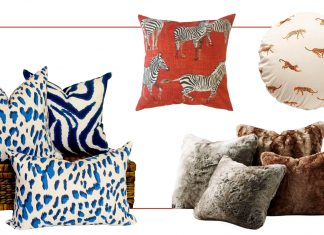 Animal print throw pillows are a safe neutral that add interest. Fun + sexy. Let your inner wild child out w/ 20 of our fav wild child accent pillows. RAWR!
