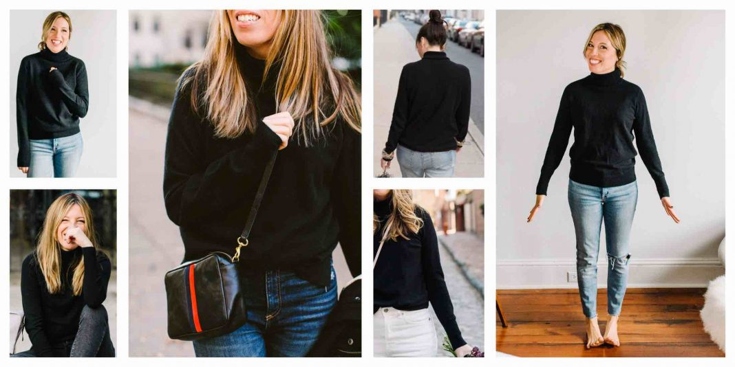 Black cashmere turtleneck sweaters: Is the Equipment Delafine as good as the Oscar? And...w/ the Everlane cashmere turtleneck...is it worth the extra cost?