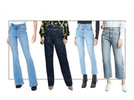 Those new jeans — the 1s w/ the v-shape accentuating a high waist? They're front yoke...a retro trend we're kinda lovin' right now. Here are 4 ways to style 'em.