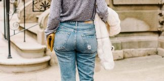 If boyfriend jeans & straight-leg jeans had a baby (with a high rise & slightly tapered leg?)...the mom jean would be born. 5 ways to style 'em, right here.