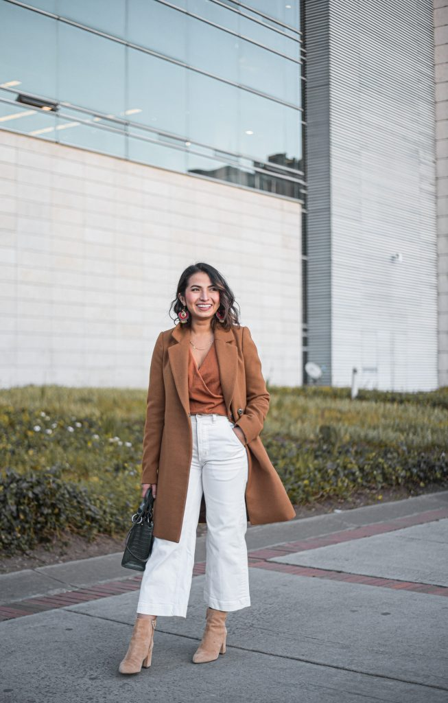 All black isn't the only way to look classy in monotone. We've got 2 head-to-toe neutral outfit ideas in warm & cool tones -- both w/ Everlane's Wide-Leg Crop Pants.