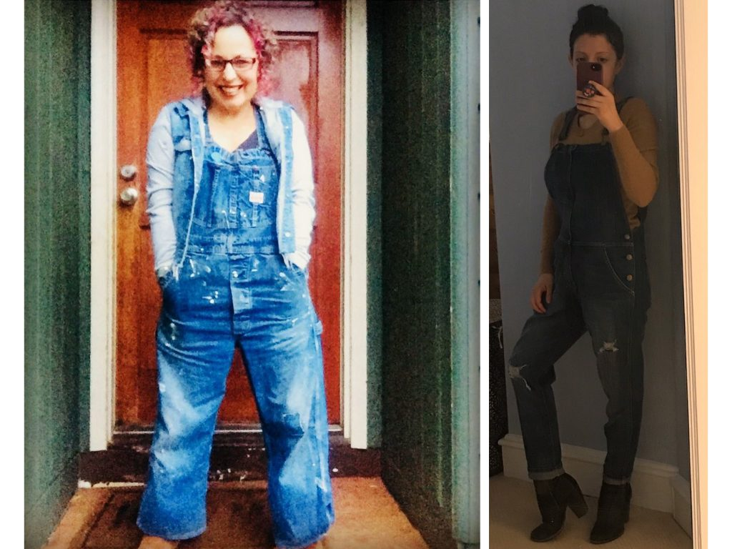 Overalls? In 2020? Ladies, please. But honestly we love how these overalls look all styled up — from good ol' blues to a snowsuit, plus some #yeehaw tags.