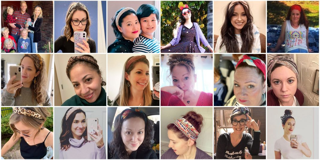 Ah, yes...it's #TMEStyleChallenge Week 3 & we are here for it — how to style a headband. Animal print, patterned, satin & silk — see how our readers wear headbands for short & long hair.