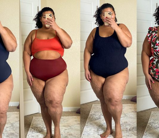 Found: 10 sexy plus-size swimsuits that are trendy (& hold the bum bum in) + give va-va-voom vibes. From 1-piece bathing suits w/ tummy control to classic black & monokinis. We're on it.