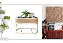 Our weekly favorite finds point to gardens inside & out, planters, natural materials & happy walls. We're shopping long weekend furniture sales, too.