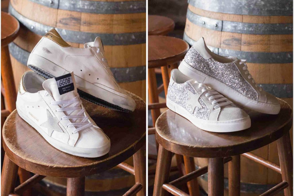 The price tag on Golden Goose sneakers is crazy expensive...SO we got some look-alikes (Steve Madden dupes) to compare & contrast. Check out our review.
