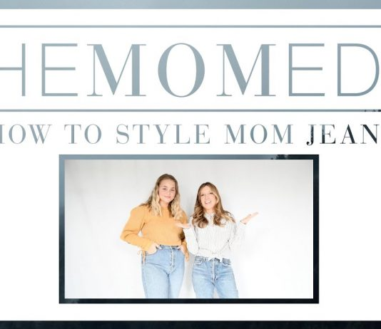 We have 3 styling #protips for that mom jeans aesthetic....How to crop, how to tuck, proportion play & the shoes to wear w/ high-rise jeans — all in 1 super-fun video (we promise).
