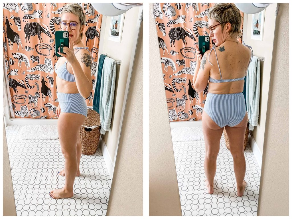 J.Crew swimwear is well-made & flattering — we are here for it. We tried 7 bathing suits & bikinis — sexy, cheeky, solid & patterned. Check out our review.
