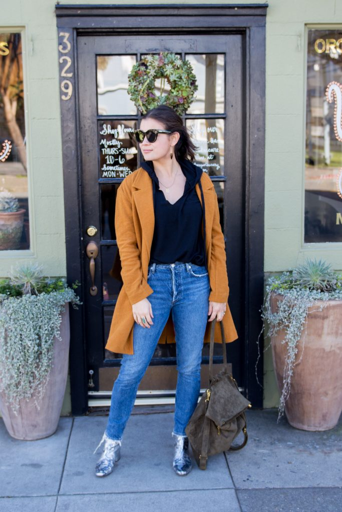 Okurrr!...this ochre — er, honey mustard-colored — jacket is just the mood booster we need. Playful, chic & warm — here's how we're wearing it.