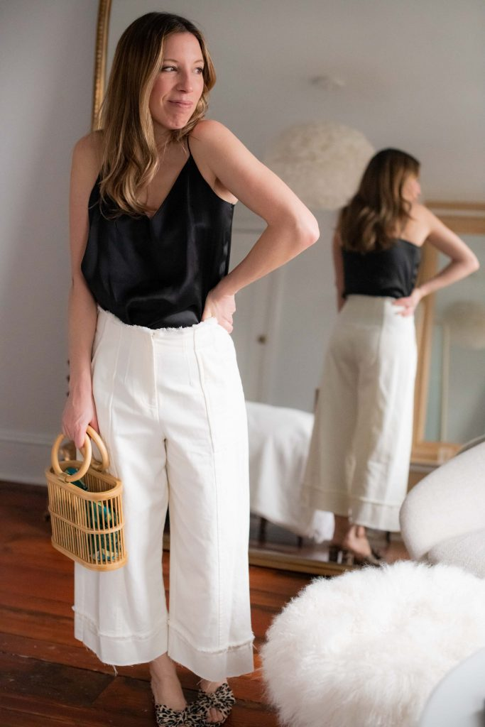 There are 2 main reasons I keep shopping Intermix + 1 bonus: cool outfit investment pieces, an affordable in-house line & their No Kid Hungry donations. WIN.