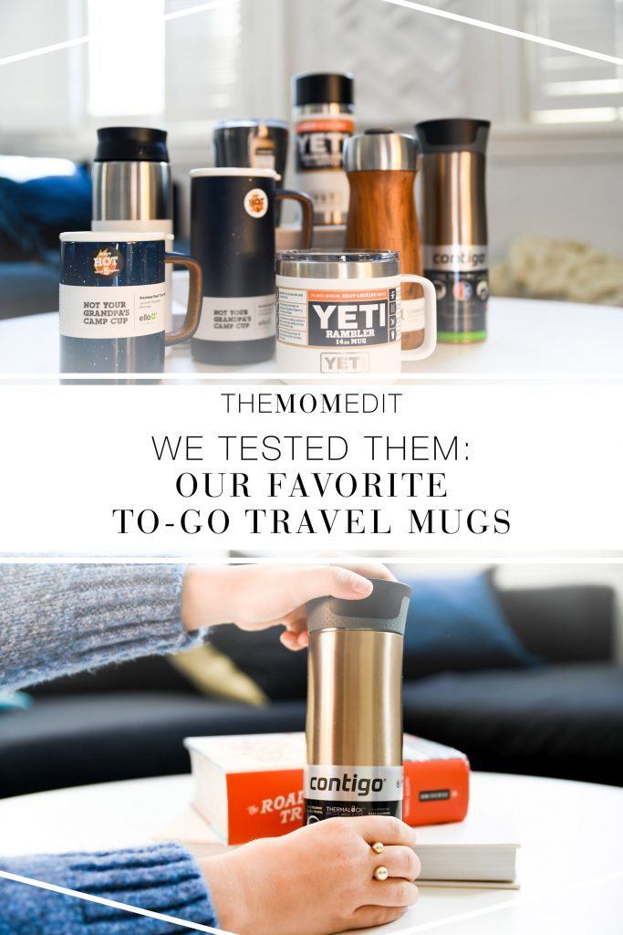 Insulated travel coffee mugs — we judged by look, feel, durability, spill-proofing &...y'know...how well they actually work...to find 1 mug to limit our environmental impact.