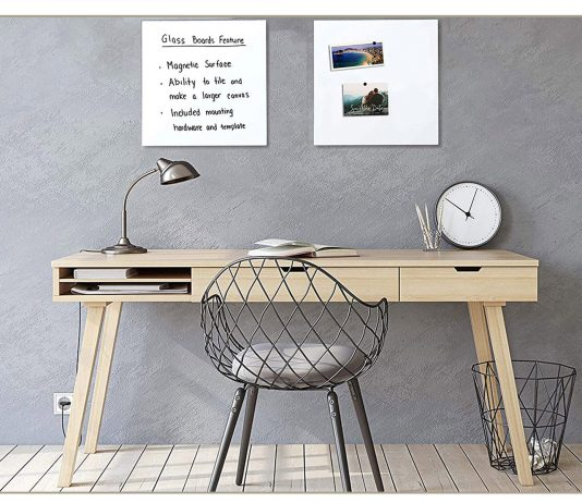We're lucky. TME is working from home & home schooling. We need solutions for the WHOLE family. Desk, lapboards, cord ports & ergonomic organizers are on our list.