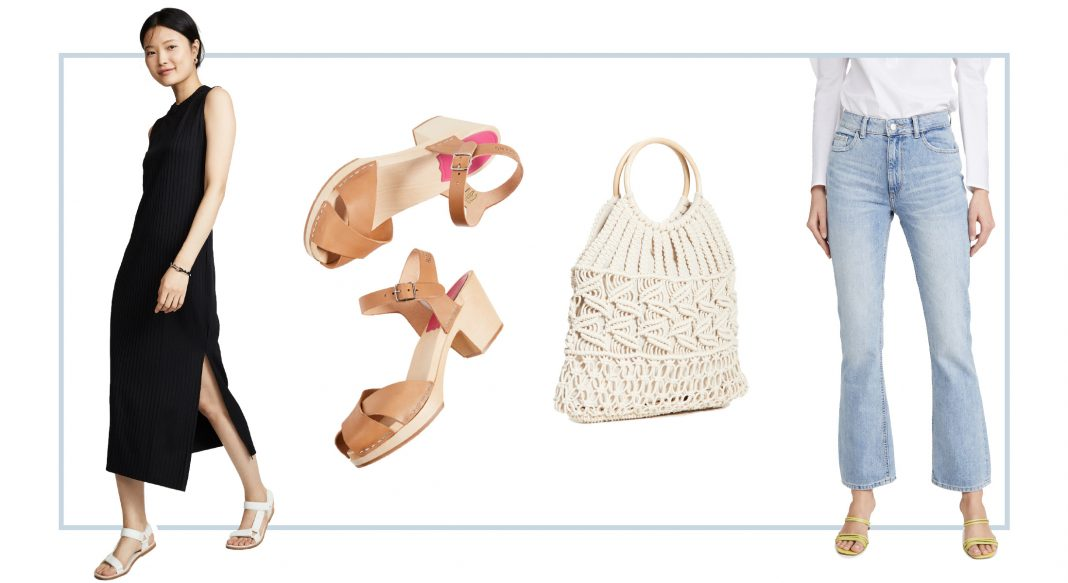 Shopping 1 of the best pop-up sales of the year. The Spring Event at Shopbop means casual dresses, comfy clogs, designer denim & pretty purses. #addtocart