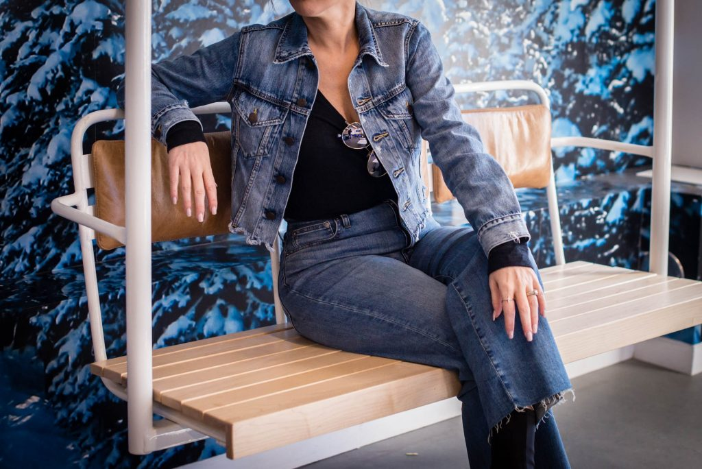 Looking for sustainable denim? We found ABLE & 2 denim jackets we're obsessed with. ABLE, an ethical fashion brand supporting women, is SO GOOD all around.