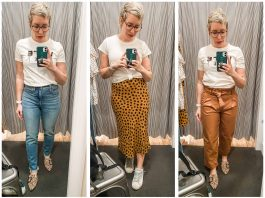 Is it Madewell style we love or the actual clothes? We try on perfect vintage & roadtripper jeans + tops, skirts & spring outfits. Are we breaking up?