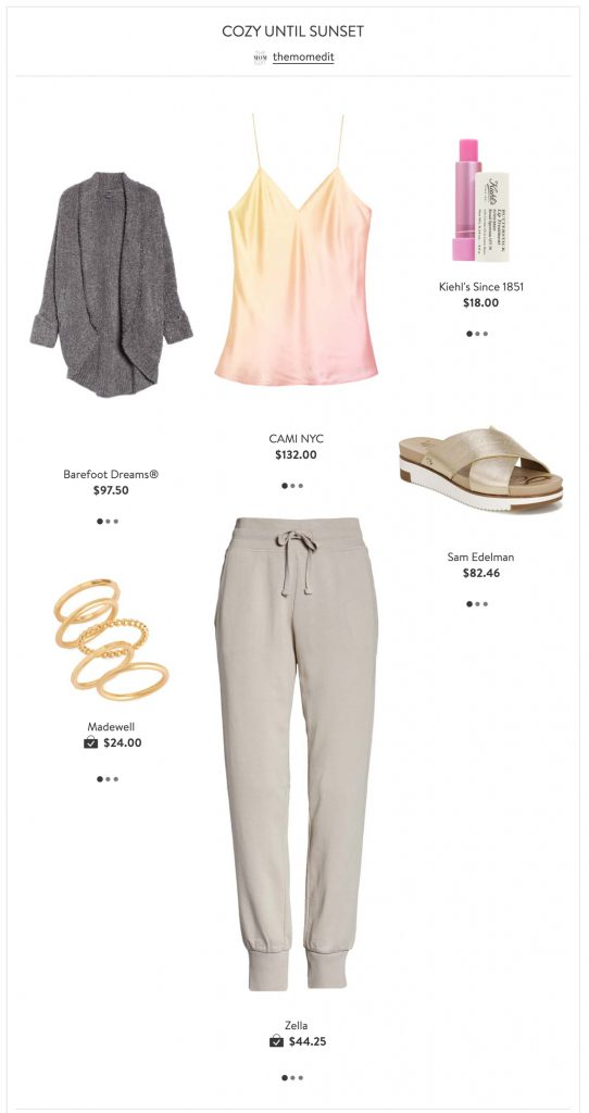 It's a Sweatpants Extravaganza w/ Nordstrom. W/ many of us working & teaching from home, we have 7 ways to dress up our sweats...or at least make cute outfits.