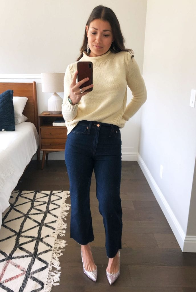 We've got a l'il J.Crew haul that's SO GOOD. Sexy, dramatic blouses & cute bikinis + classic booties & jeans. These goodies are worth more than the price.