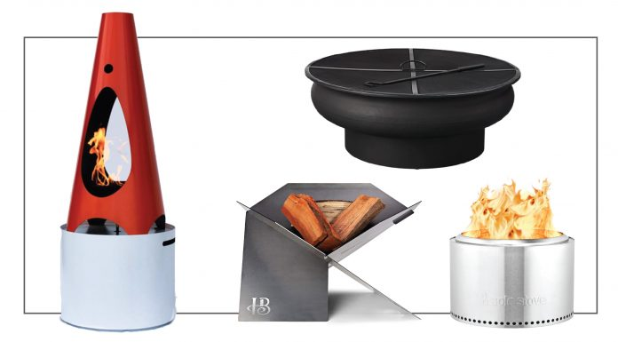 For S'mores, warmth & family fun: our fav city-size fire pits & outdoor chimneys for patios, backyards & decks. Propane or wood-fired. All price points & sizes.