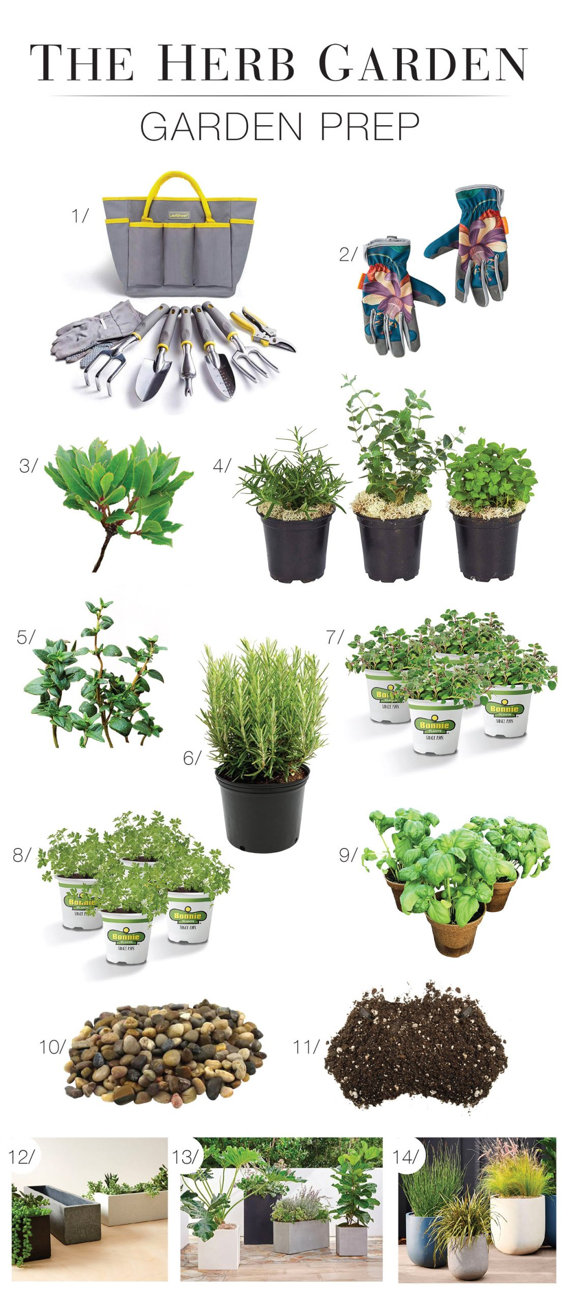 A useful, manageable at-home project: The Kitchen Herb Garden. A starter kit for culinary seeds (rosemary, thyme) indoors, outdoors, on a balcony. Shop it here.