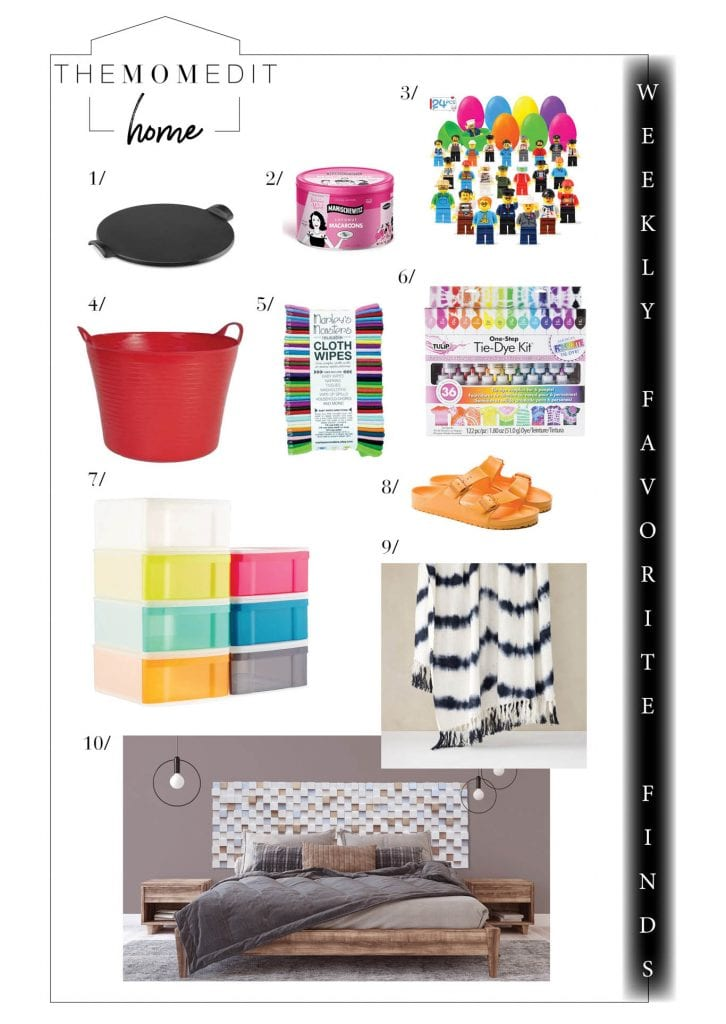 Grateful for health & home, this week's favorite finds lean toward the bright side, to Easter, Passover & colorful spring break fun —plus, home decor on sale.