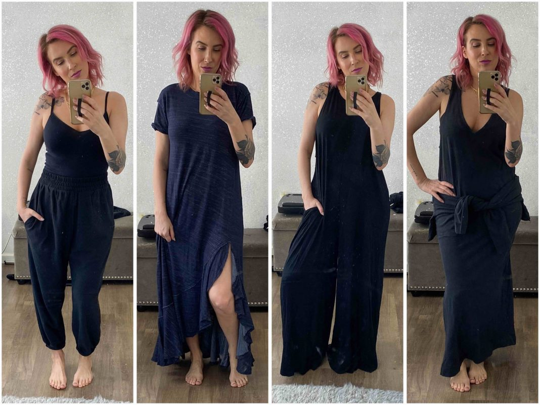 Down the rabbit hole that is Free People loungewear. Cool dresses, jumpsuits, loungewear & sets that are comfortable, cute...&--dare I say--even sexy.