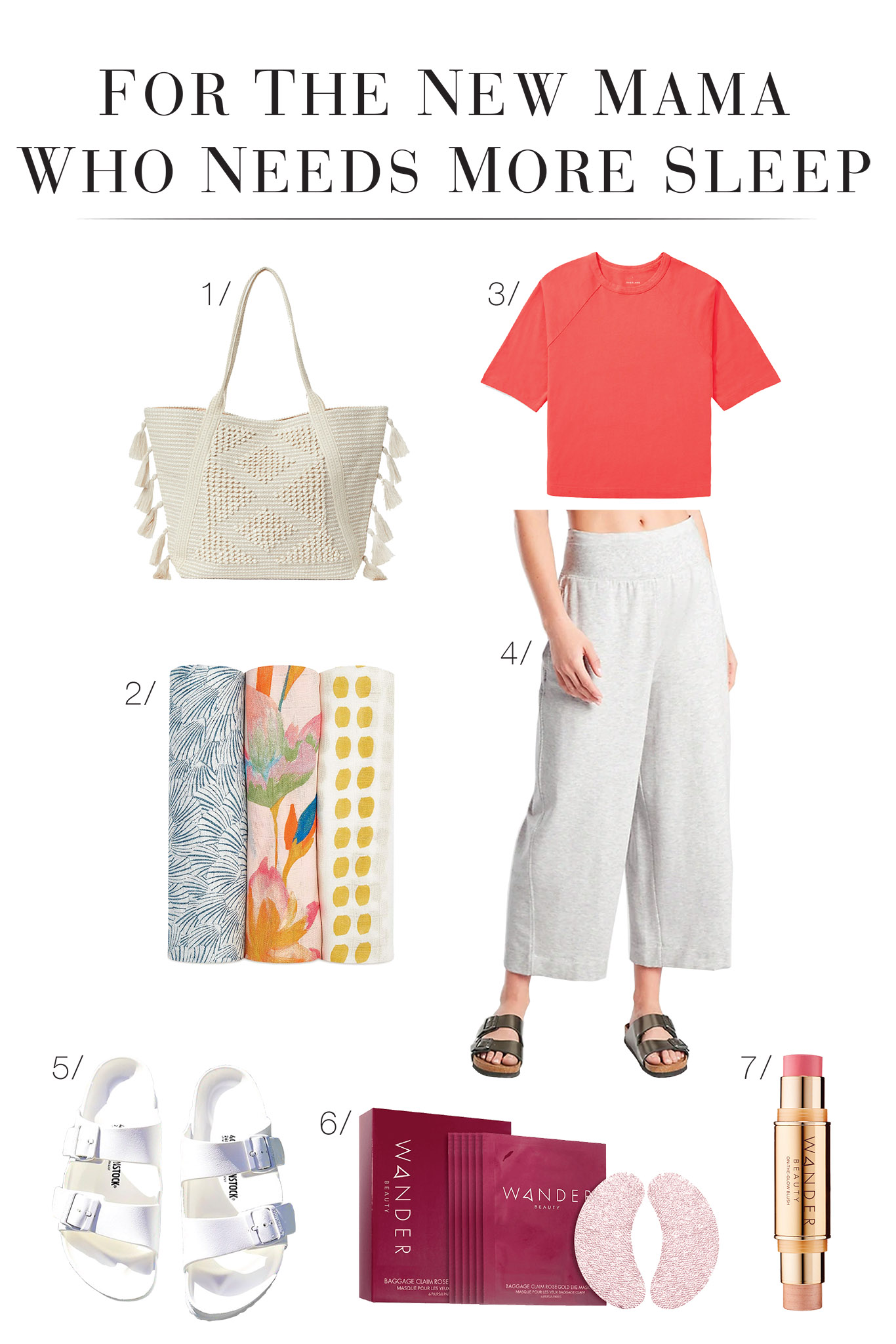 Let's take the guesswork out of postpartum styling w/ 3 nursing-friendly outfits, so new moms feel comfy + chic. Think wide-leg pants, nursing dresses & cute accessories.