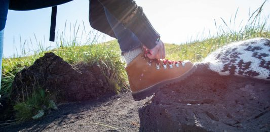 Danner hiking boots, in addition to their durability, stability, longevity, waterproofing & comfort...are cute. The stylish factor is a main reason we love 'em.