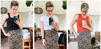 Leopard print midi skirt — in silk or satin, the perfect neutral for summer wardrobes. We're styling 10 outfits — w/ Birkenstocks, linen tops & 10 other ways.