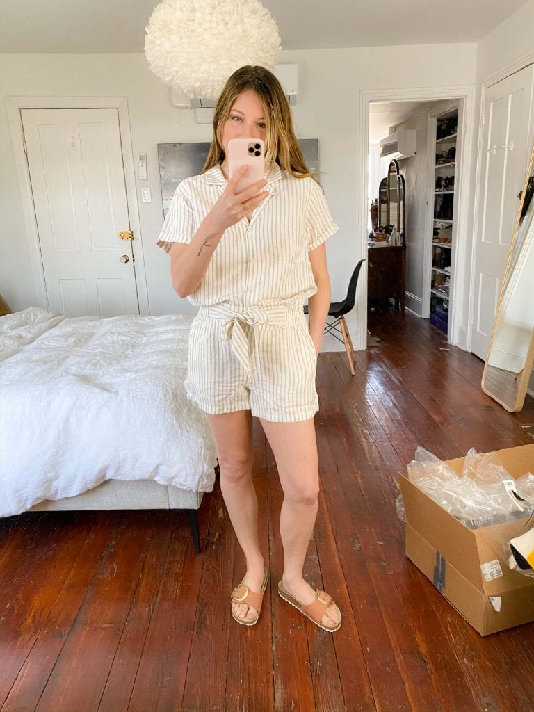 UpWest is a brand whose clothing vibes like a perfectly curated summer vacation capsule wardrobe...with a twist. Think tomboy-chic, here's a peek.