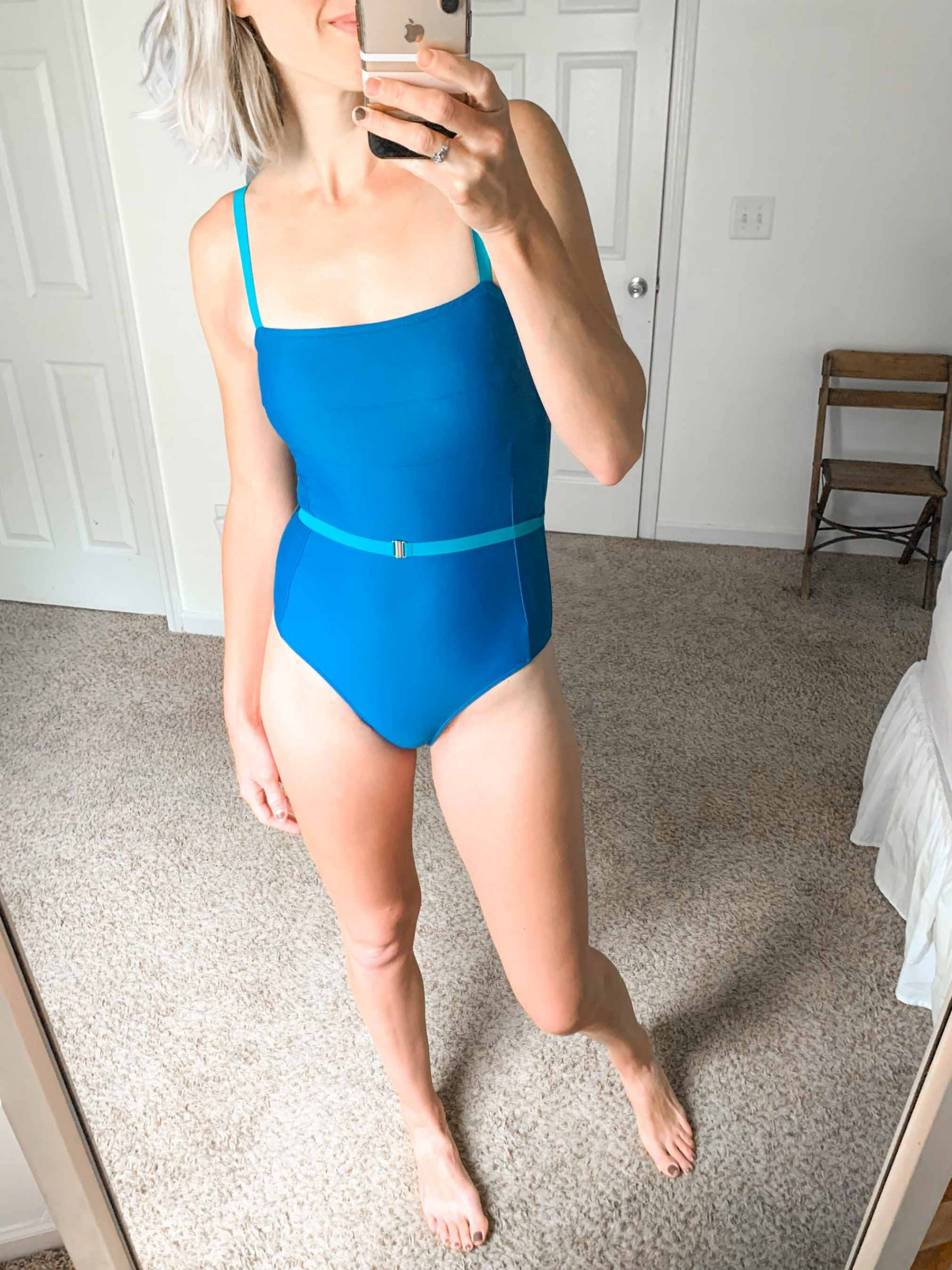Summersalt swimsuits are cute, the bum coverage is spot-on & they have pretty 2-piece suits! Also...Summersalt bathing suits are sustainable! YASSS..
