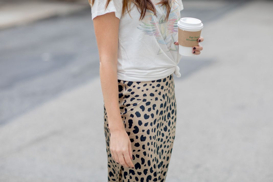 Leopard midi skirts, animal print shoes & bold-colored tops are on our weekly sales lists – & beauty too. We're shopping Nordstrom, Anthro & Gap!