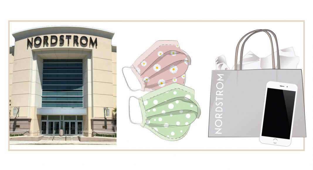 Nordstrom, 1 of our fave department stores, is reopening. Face masks, cleanliness & a different shopping experience await. What to expect from in-store retail, inside.