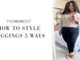 Comfy, durable leggings? Here! We're styling our Vince Camuto plus-size leggings 5 ways. Think kimonos, blazers, T-shirt dresses & more.