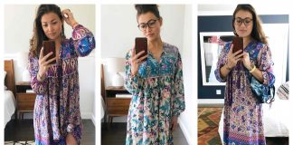 Ahhh...The #AmazonNightgown is giving us all the hearteyes for the soft caftan/boho midi dress/housedress that it. 9 ways to wear it + a review.