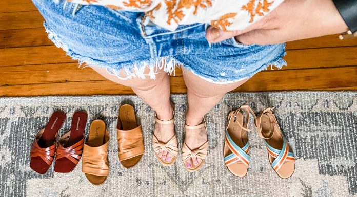 Neutral sandals are a versatile shoe staple for the wardrobe. Taupe, tan, beige & brown sandals go with about any outfit. We found a bunch (+ a rainbow pair).