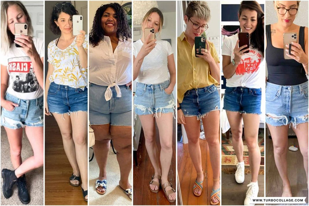 Let's talk SHORTS. Levi's 501 denim shorts to be exact. We're trying on high-rise, mid-rise & plus-size cutoffs, so *hopefully* you'll find your new Jean Shorts Of The Summer.