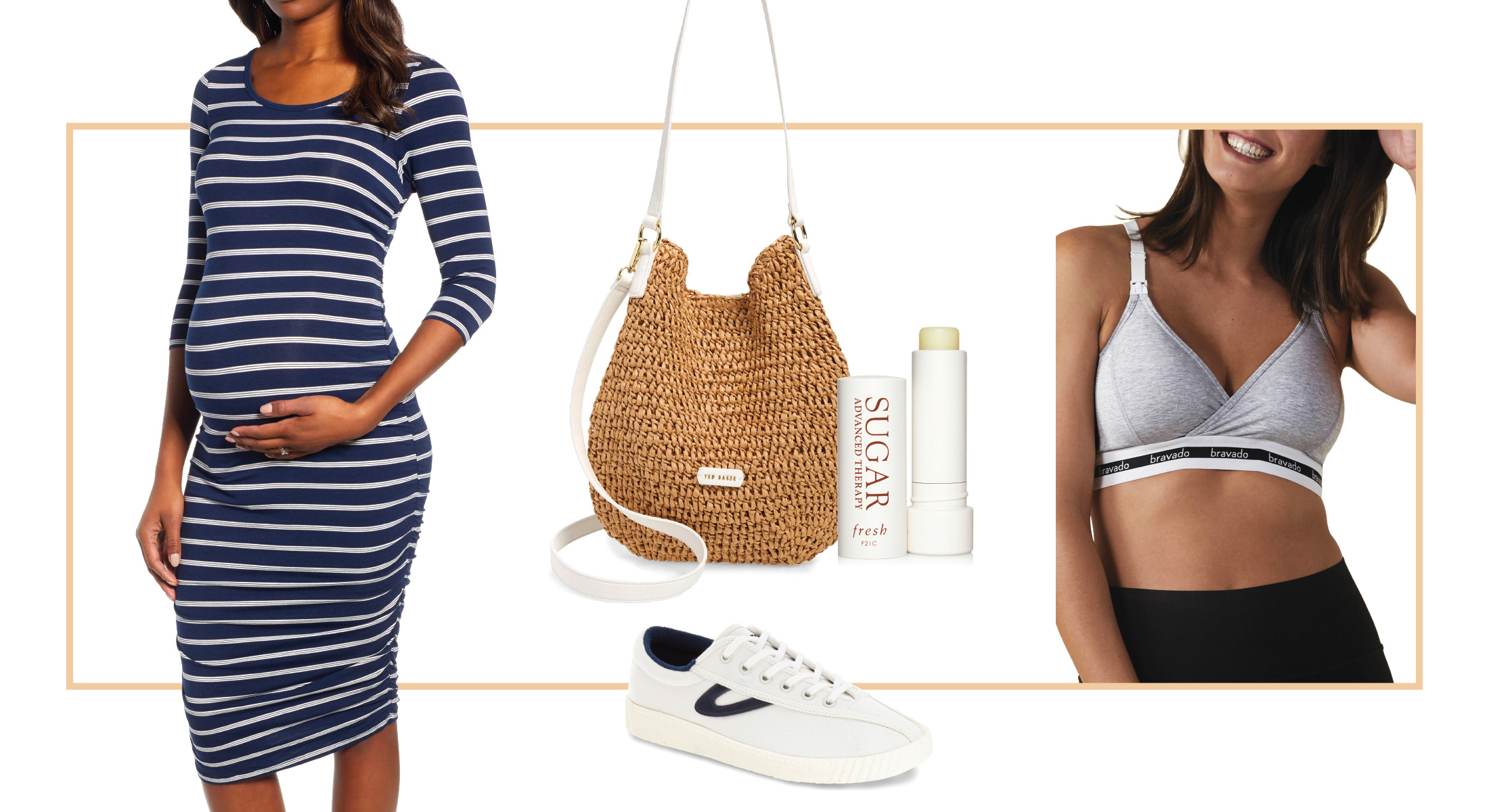 Maternity Dresses 7 Cute Summer Outfit Ideas The Mom Edit