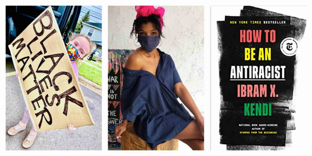 After a week of listening, we're supporting black-owned businesses, reading anti-racist books, examining