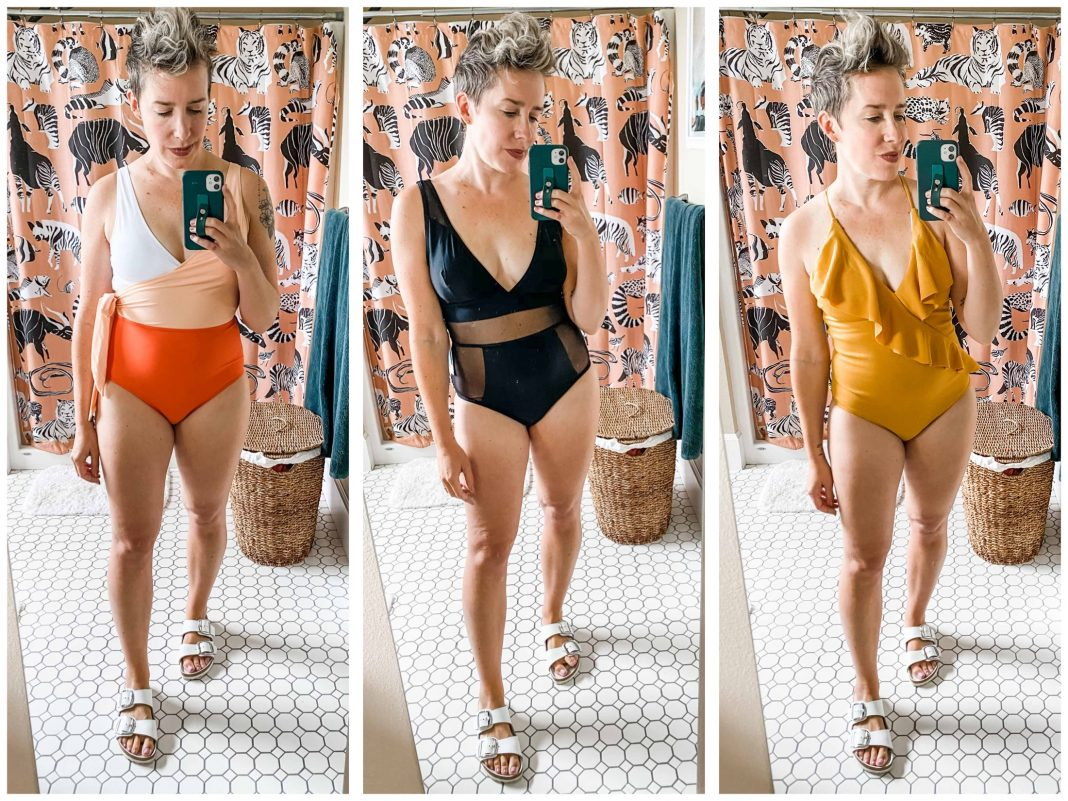 After loving last season's Cupshe swimsuit (the 1 w/ the good reviews), we had to try a few more 1-piece bathing suits. Check out these 3 under $35.
