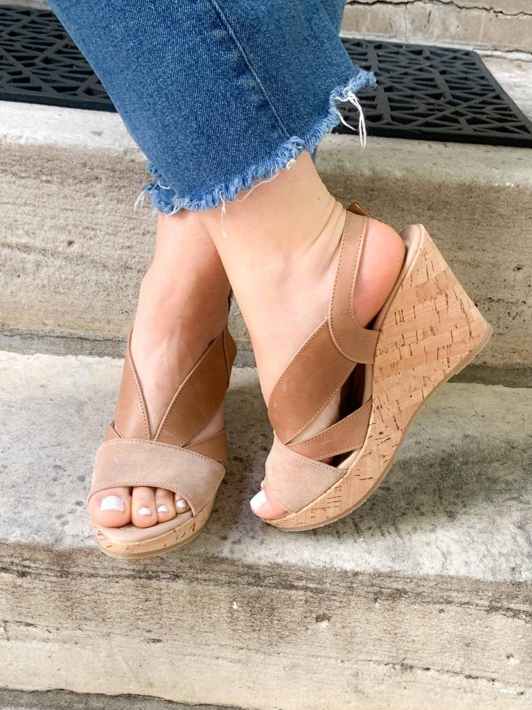 For summer, we're all about comfy, stylish sandals. FitFlops, Birkenstocks, Borns & Cordanis, are obvi go-tos. But we're trying EILEEN FISHER & Steve Madden too.