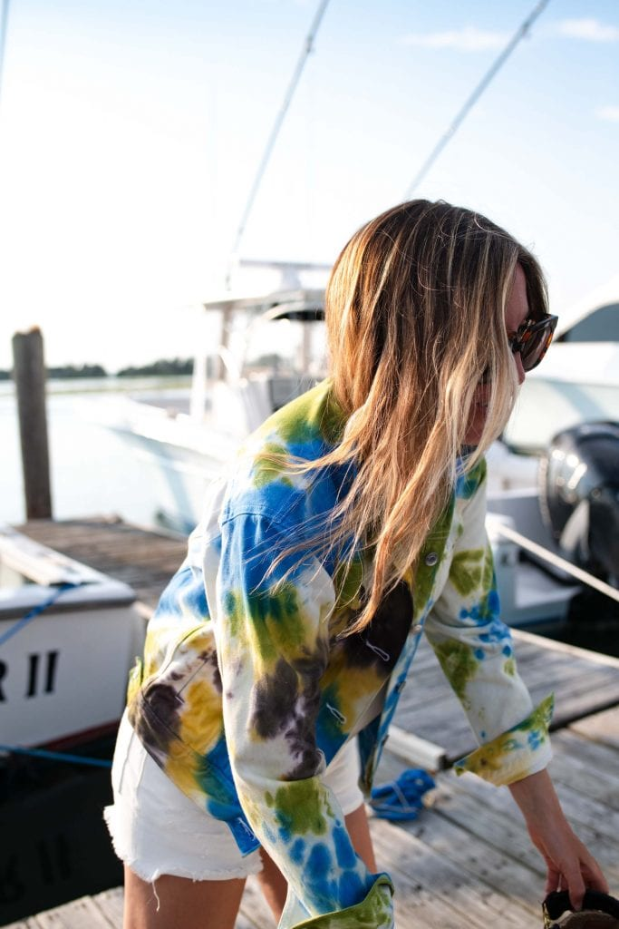 Jackie Pepper recently launched her own custom tie-dying business, Dye It Pepper. I'll never DIY tie-dye again. Face masks, denim, loungewear & Sacs By Jac...