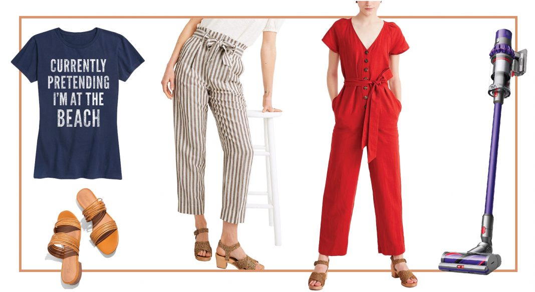 Embracing the Dyson cordless vacuum & some seriously stylish fashion. Levi's AND Madewell? Jackpot. (Cute tie-dyed masks, anyone?!). Zulily's got it.