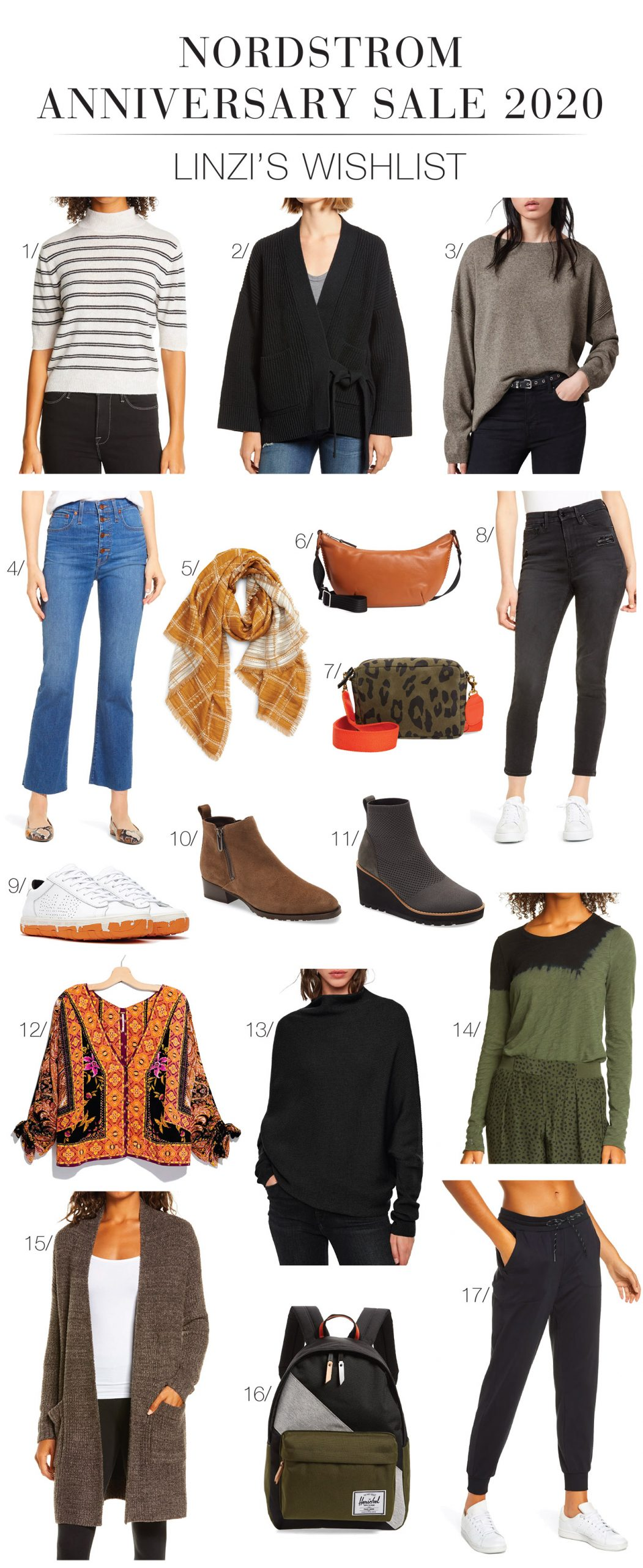 The Nordstrom Anniversary Sale 2020 preview means we can kinda #addtocart now. Linzi's guide to EILEEN FISHER, FRAME & AllSaints faves inside.