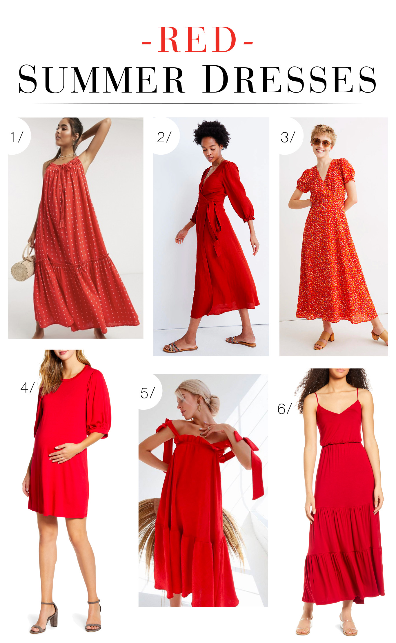 Red dresses are memorable, fun, sexy & gorgeous. We found the best red maxi dresses w/ special elements: pretty ties, flattering cuts & flirty volume.