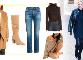 This Nordstrom Anniversary Sale, we're shopping a capsule wardrobe of denim & rich neutrals. Vince, Tumi, Free People & AG are all on our wish list.