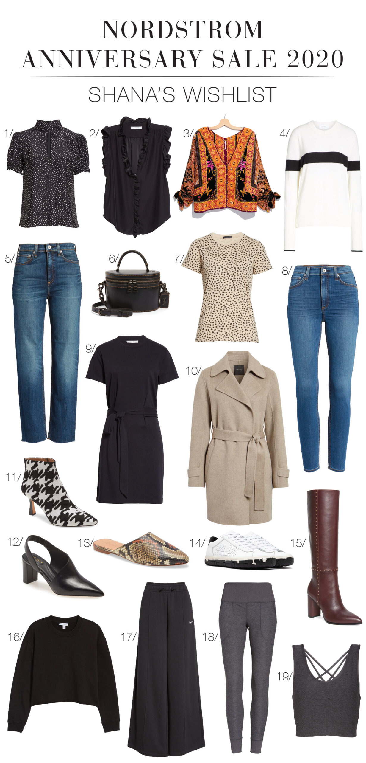 Thanks to online preview, I created The Ultimate Capsule Wardrobe, made 100% from the best items in the 2020 Nordstrom Anniversary Sale...VOILA.
