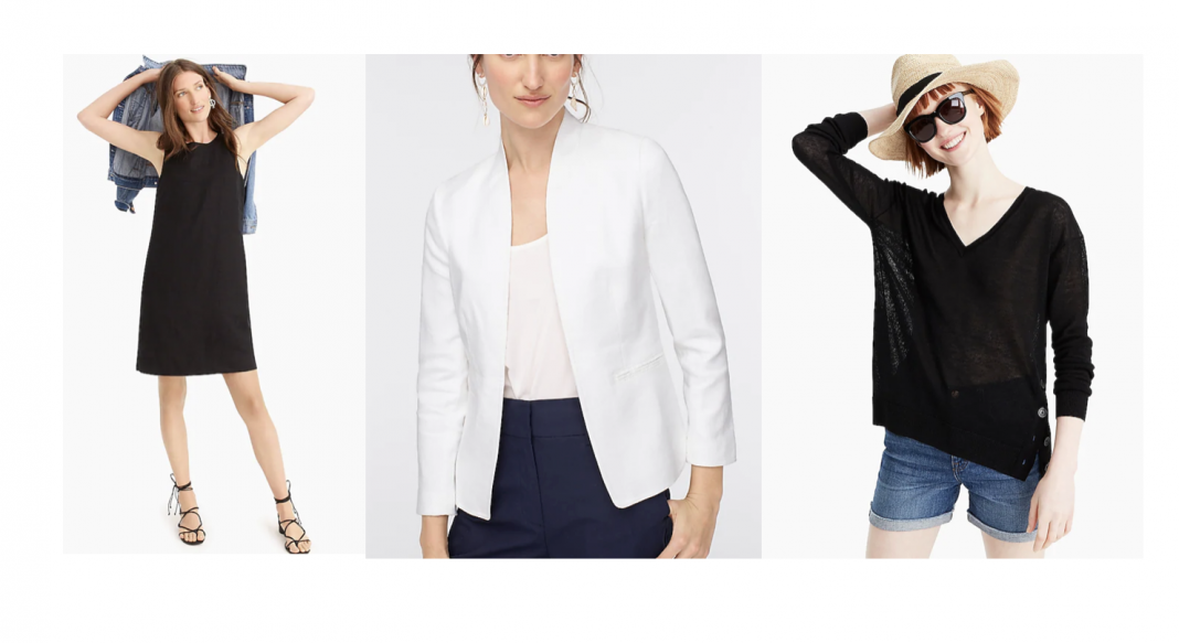 My favorite 1-piece swimsuit, fav blazer & this best-selling collarless sweater blazer are 1 of SO many good deals in J. Crew's Prime Time event & summer sale.