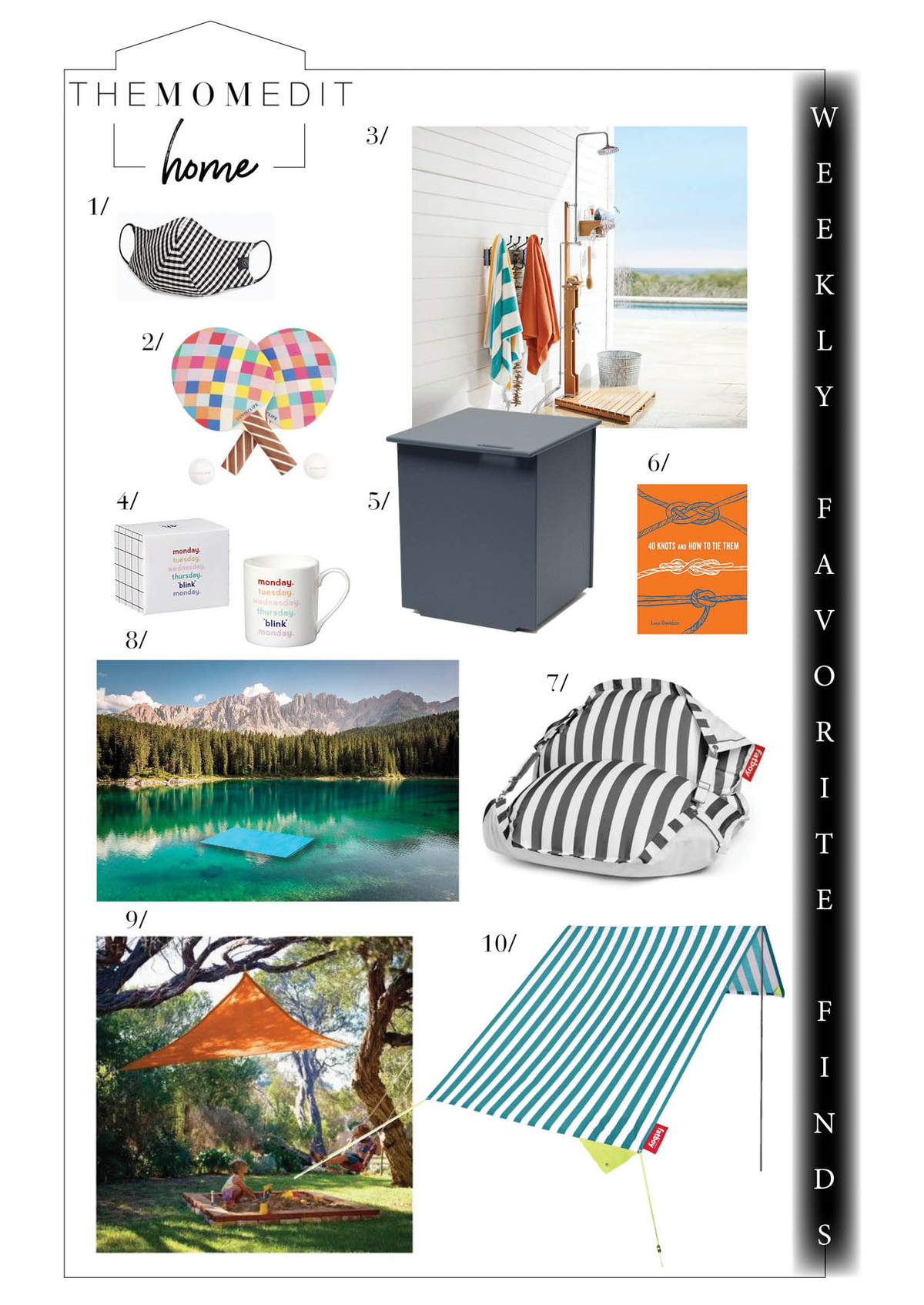 An outdoor shower, a fun mug, a Black-owned business we're obsessing over + great home decor on sale from CB2, Serena & Lily + Lulu & Georgia.